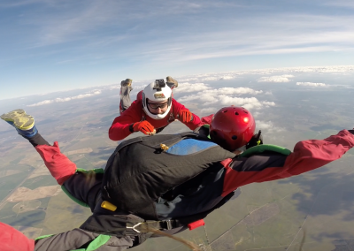 Curso queda-livre skydive - ensinar a voar